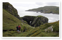 Walking on Bere Island - Bere Island Holiday Homes